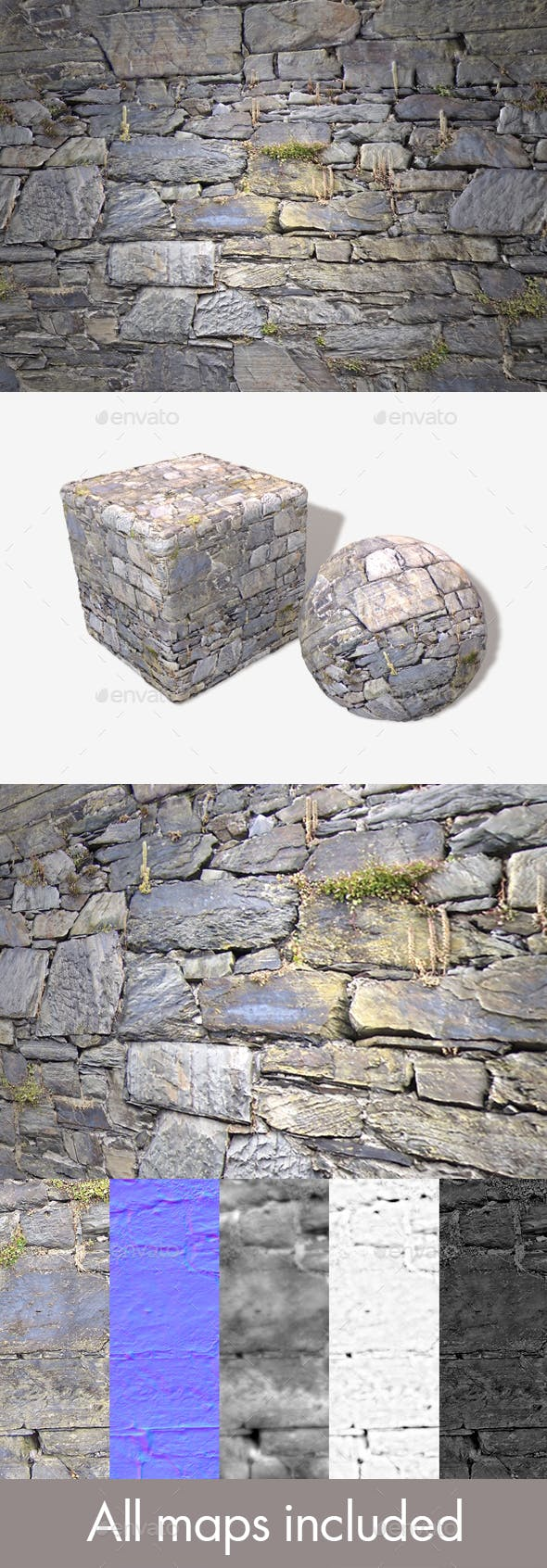 Old Wall Seamless Texture - 3DOcean Item for Sale