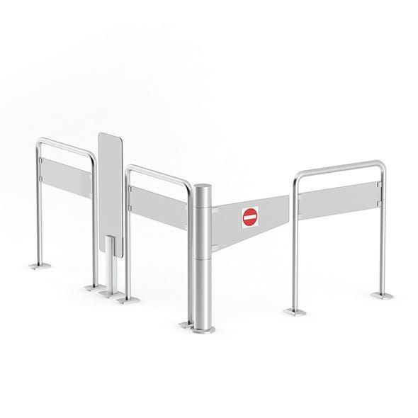 Market Exit Gate - 3DOcean Item for Sale