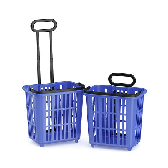 Two Shopping Baskets
