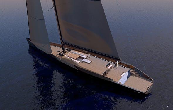Wally Esense - Sail Yacht - 3DOcean Item for Sale