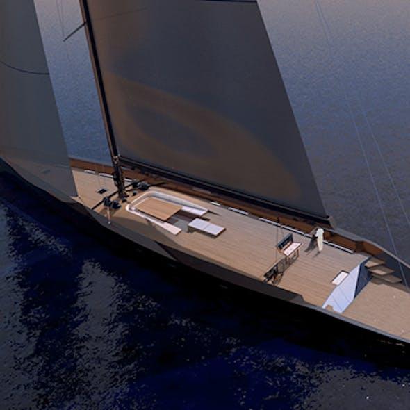 Wally Esense - Sail Yacht