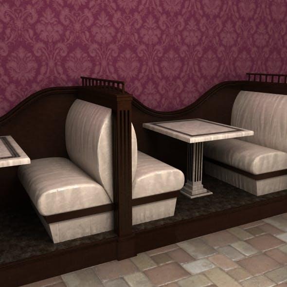 Restaurant seats - 3DOcean Item for Sale
