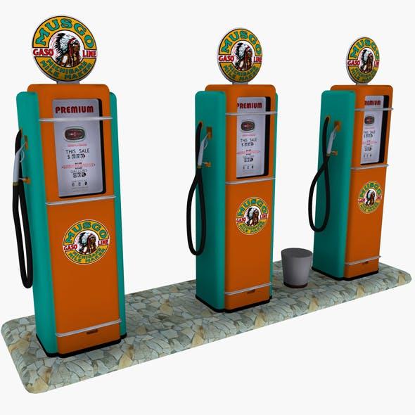 Gas Pump Musgo
