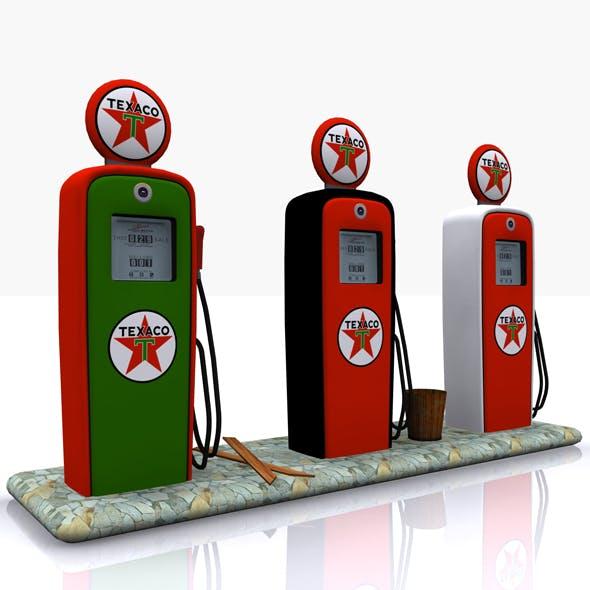 Gas Pump Texaco