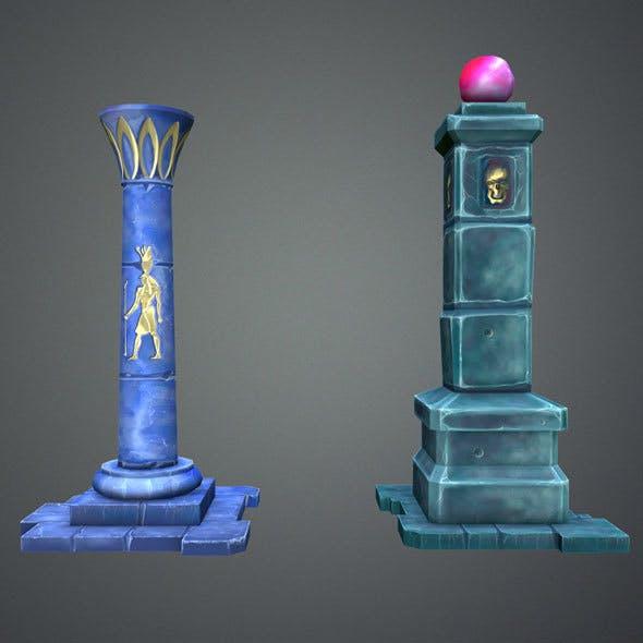 Fantasy Pillar Collection