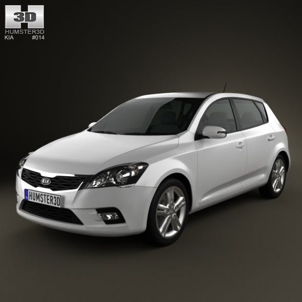 Kia Ceed Hatchback 5-door 2011