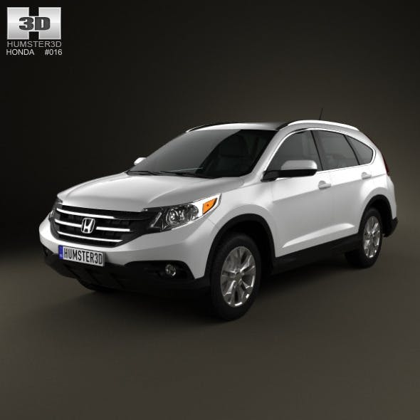 Honda CR-V 2012 - 3DOcean Item for Sale