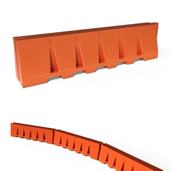 Plastic Safety Barrier