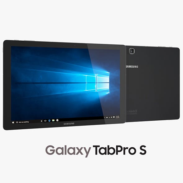 Samsung Galaxy TabPro S Black