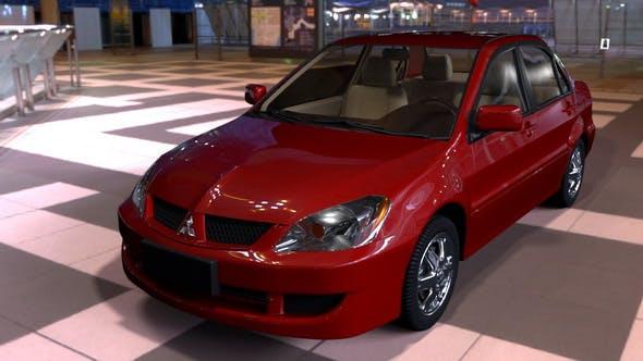 Mitsubishi Lancer 2007 - 3DOcean Item for Sale