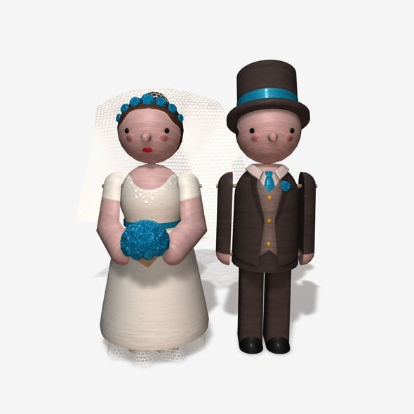 Toy Bride and Groom