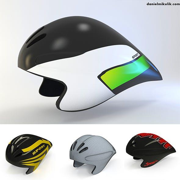 Time Trial Helmet  - 3DOcean Item for Sale