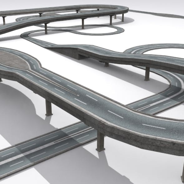 Road And Highway Set