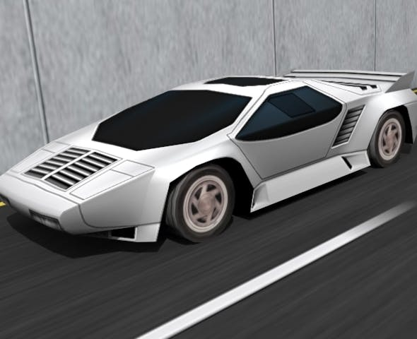 Vector W8 Twin Turbo - 3DOcean Item for Sale
