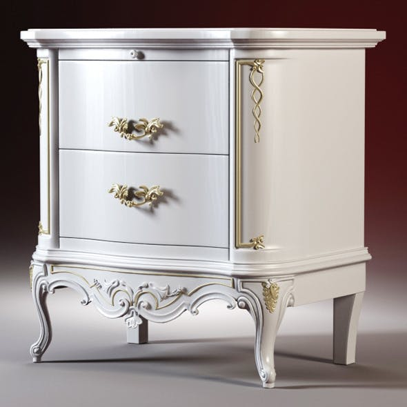 High quality model of the bedside tables