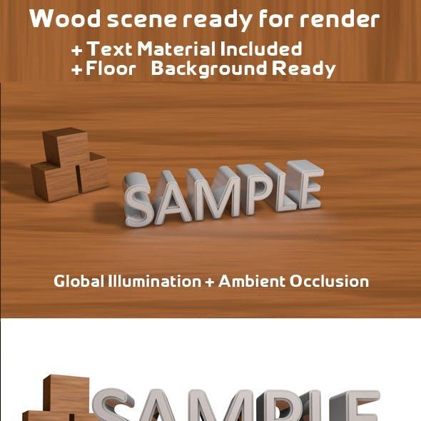 Wood Scene