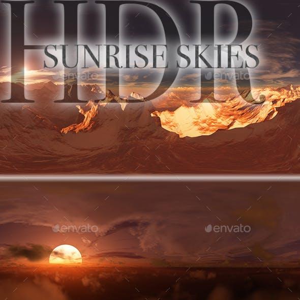 HDR Sunrise Skies