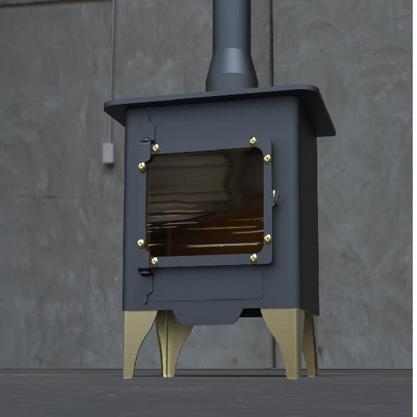 Stove 3D model - 3DOcean Item for Sale