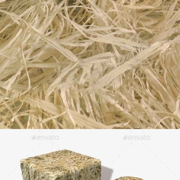 Dry Straw Seamless Texture