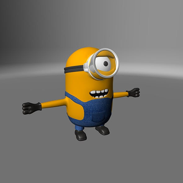 Simple Minion - 3DOcean Item for Sale