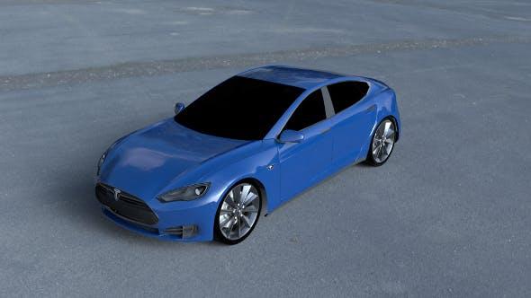 Tesla Model S P85 HDRI - 3DOcean Item for Sale