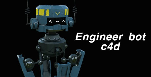 Engineer bot - 3DOcean Item for Sale