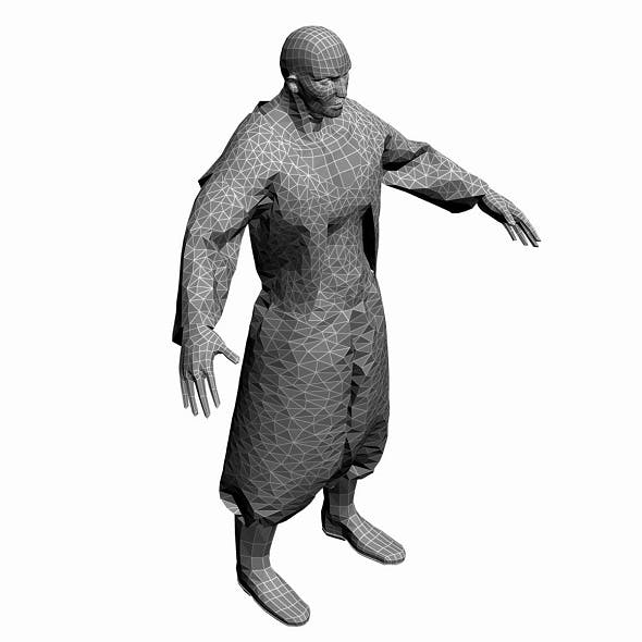 Low Poly Base Mesh man 1