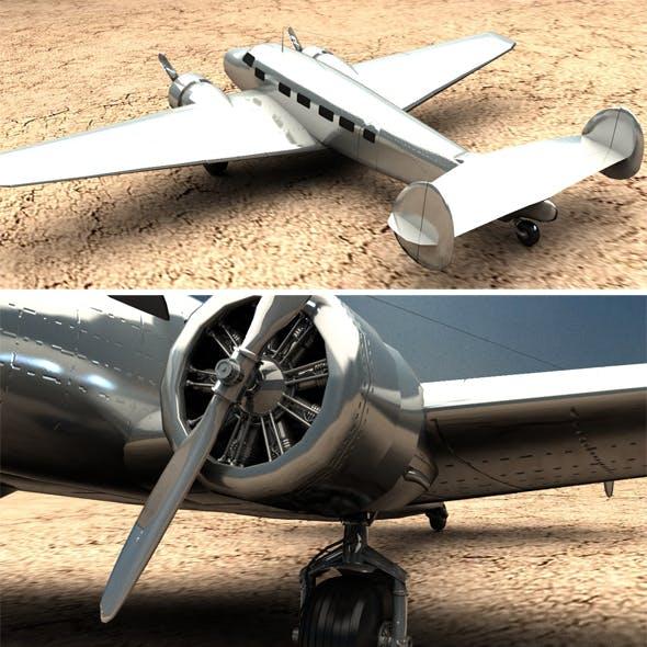 1934 Lockheed Model 10 Electra - 3DOcean Item for Sale