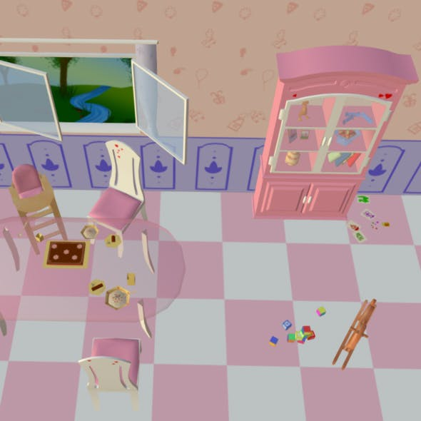 Room Like For Barbie