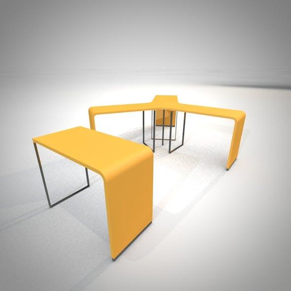 Brunch table set