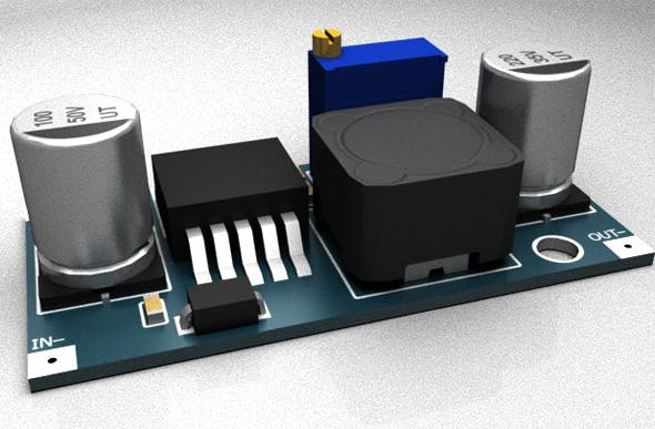 Power supply module DC-DC - 3DOcean Item for Sale