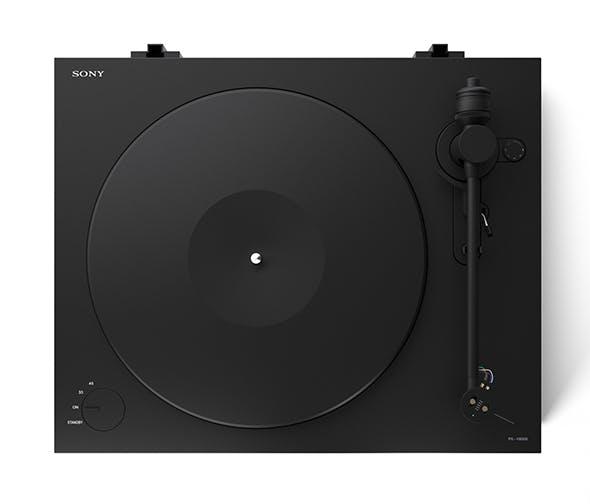 SONY vinyl player - 3DOcean Item for Sale