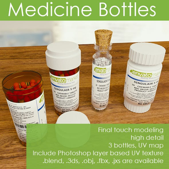 Homeopathic & Pill Containers