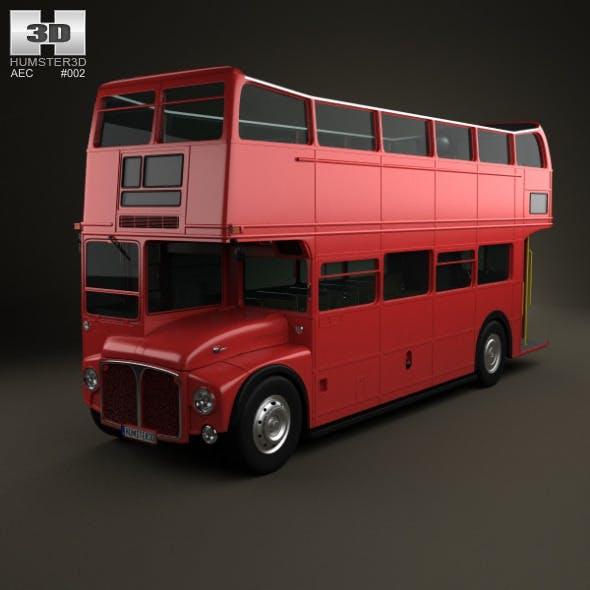 AEC Routemaster RMC 1954 - 3DOcean Item for Sale