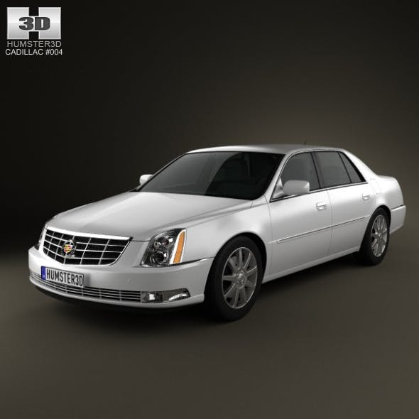 Cadillac DTS 2011 - 3DOcean Item for Sale