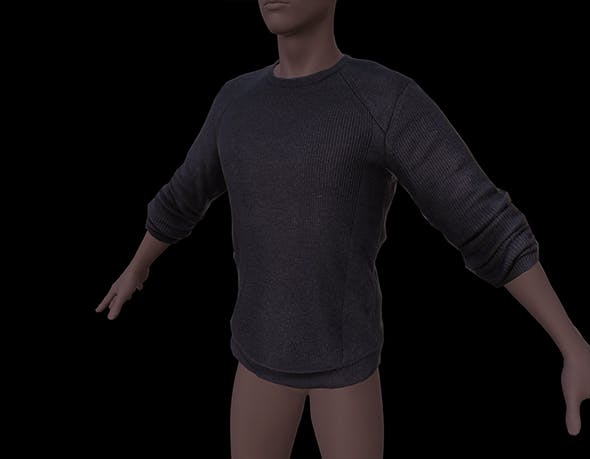3D male cloth (Shirt) - 3DOcean Item for Sale