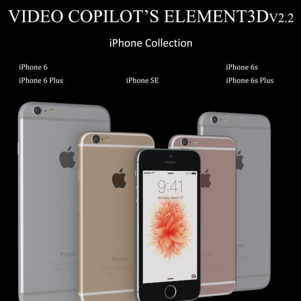 Element3D - iPhone Collection