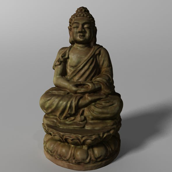 Buddha Statuette  - 3DOcean Item for Sale