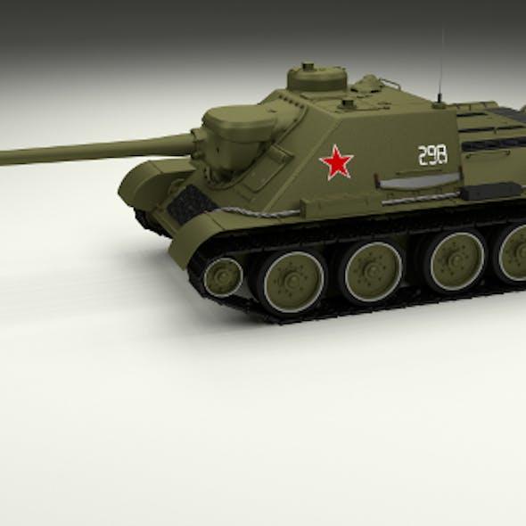 SU 100 Tank Destroyer