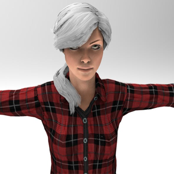 3d model of a Woman