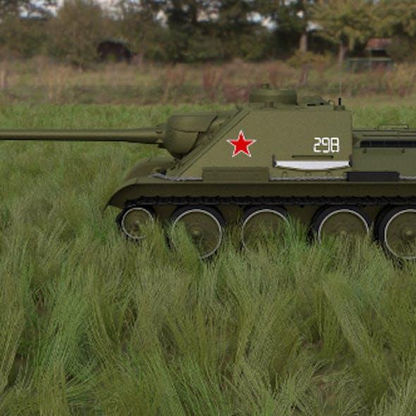 SU 100 Tank Destroyer HDRI