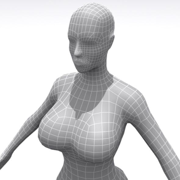 High Resolution Female - Base