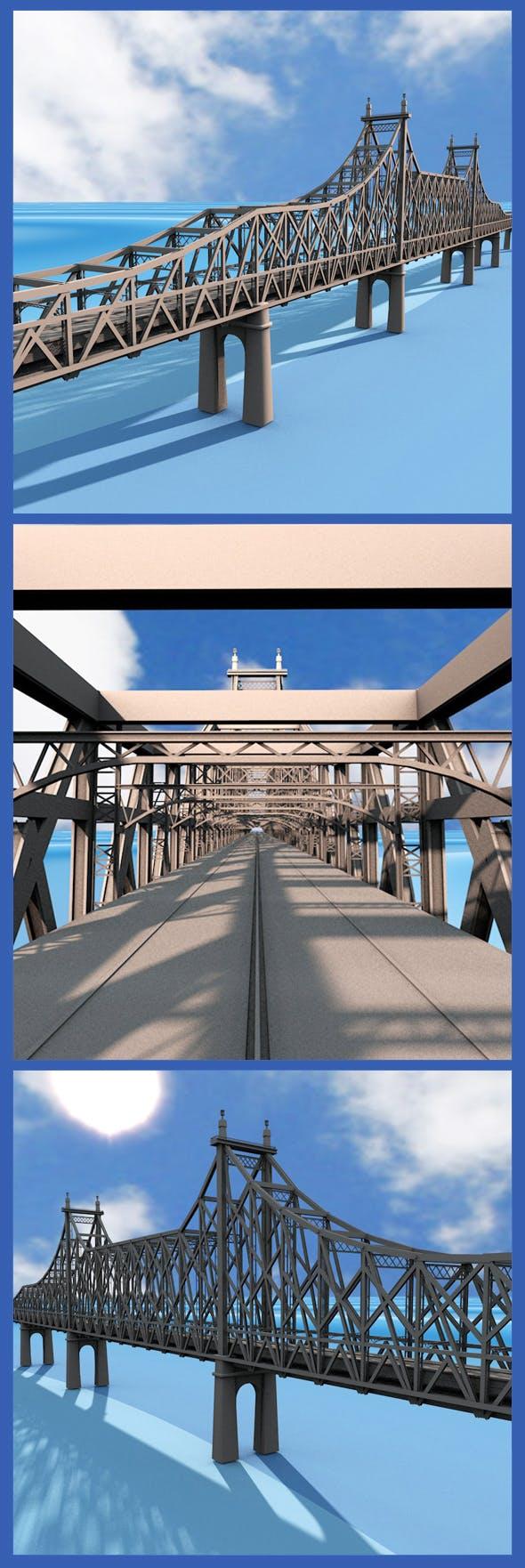 Queensboro Bridge - 3DOcean Item for Sale
