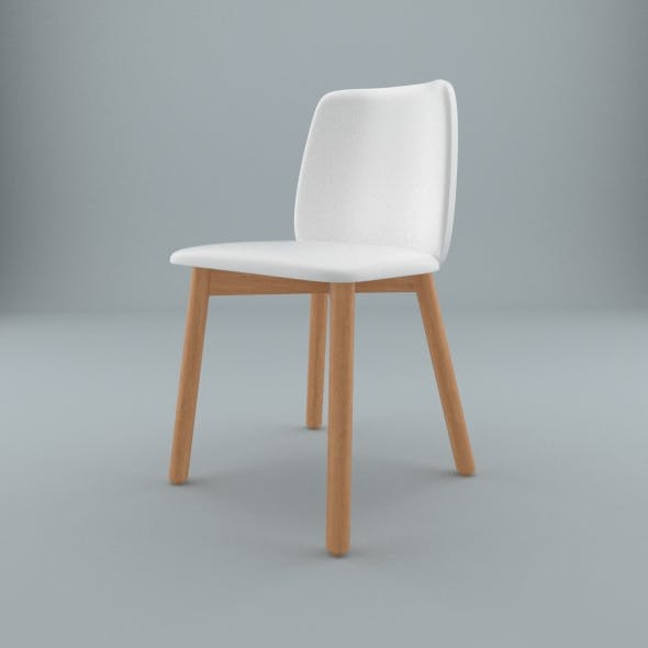 Blu Dot furniture - Chip Leather Dining Chair