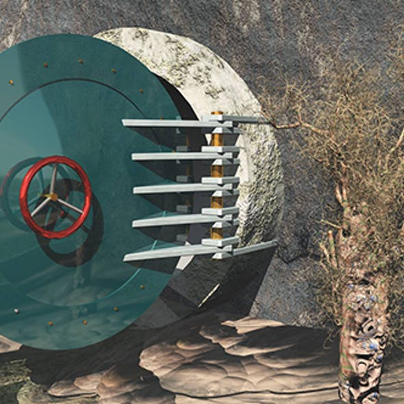 Bunker Door (Opened)