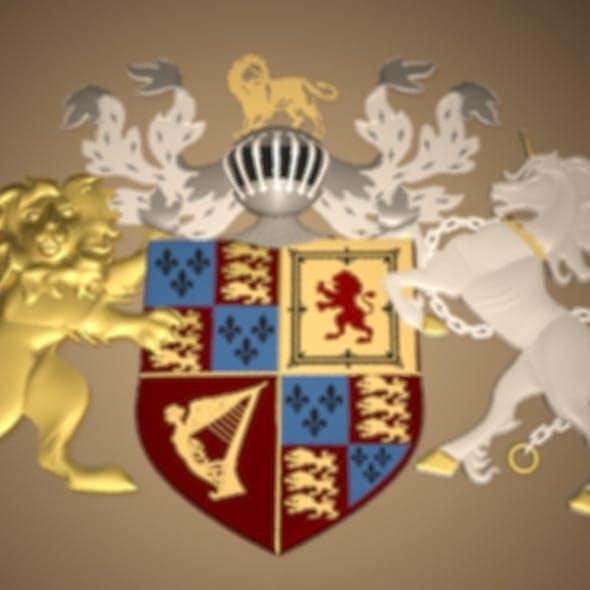 Royal 3D Crest