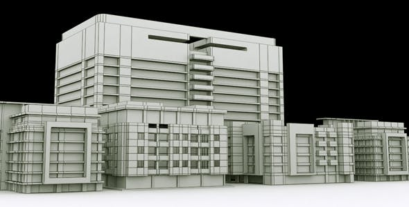 Building Assets Model - 3DOcean Item for Sale