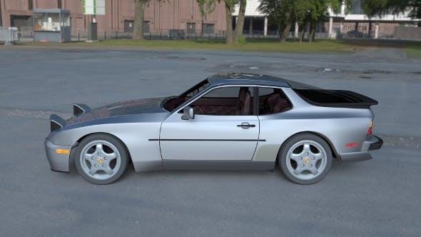 Porsche 944 Turbo S with interior HDRI - 3DOcean Item for Sale