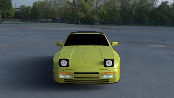 Porsche 944 Convertible HDRI - 3DOcean Item for Sale