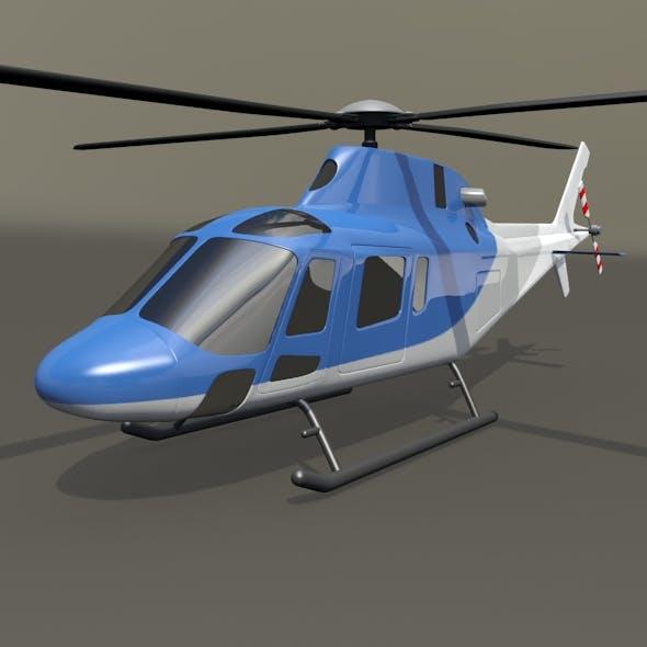 Agusta Westland aw119 Koala helicopter